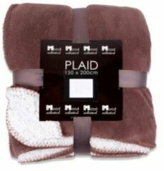 Taupe In the Mood collection plaid