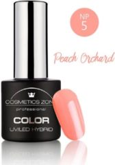 Cosmetics Zone UV/LED Hybrid Gel Nagellak 7ml. Peach Orchard NP5