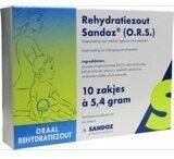 Sandoz Rehydratatiezout Sachet 5.4 Gram San (10st)