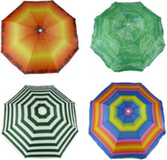 ARO houseware Strandparasol 175cm assorti kleuren Strandparasols
