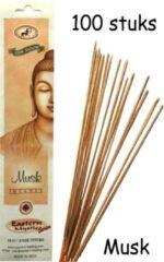 Eastern Mystic Musk Wierook 100 Stuks Incense sticks - 25cm