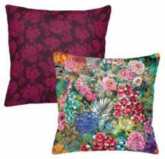 Roze Melli Mello - sierkussen - Bring me Paradise - Bloemen - Kleuren