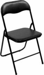 Zwarte Perel Vouwstoel inklapbaar - Zwart