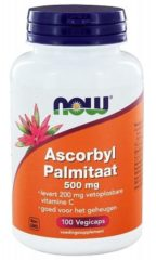 Now Foods Now Ascorbyl Palmitaat 500 Mg Trio (3x 100vc)