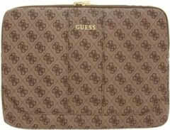 Bruine Guess 4G Uptown Sleeve 13 inch - Brown