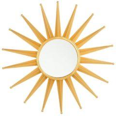 Beliani Wandspiegel goud ø60 cm PERELLI