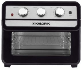Multifunctionele oven Kalorik zwart/zilverkleur