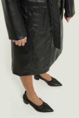NA-KD Shoes Elastic Pumps - Black