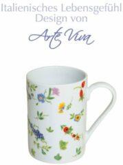 Set van 6 koffiemokken Millefiori Arte Viva multicolor