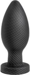Zwarte Blush SPARK SILICONE PLUG SMALL CARBON FIBER