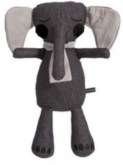 Antraciet-grijze RoomMates Roommate Little Elephant Anthracite