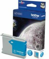 Blauwe Brother LC-1000CBP Blister Pack inktcartridge Original Cyaan