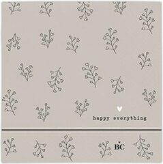 Bastion Collections - Servet S - Titane Happy Everything