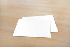 Enkele kaarten Raadhuis 105x - 150mm 240grs wit 50 stuks