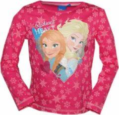 Disney Frozen longsleeve Anna en Elsa roze maat 110