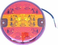 Rode BWN Achterlicht LED Hamburger 12-24V