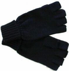BJØRNSON Mof - Gebreide Handschoenen zonder toppen - Zwart - One Size