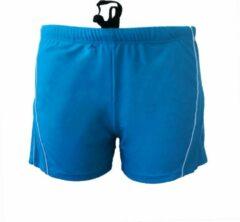 Blauwe B... Brand Heren Zwembroek Boxer Short Cyaan M-L