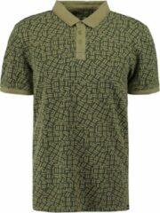 Groene Garcia Jeans 10201952 Heren Poloshirt Maat S
