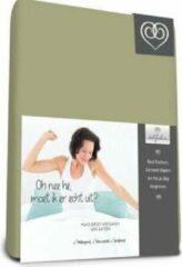 Bed-Fashion Mako jersey hoeslaken Groen 140 x 200 cm