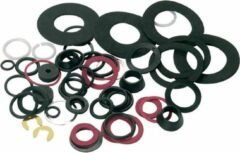 Tooltech Kraanleer / Sanitair O-Ring Set - Assortiment Blister - 50 Stuks