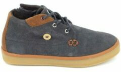 Grijze Hoge Sneakers Faguo Wattle Suede C Gris