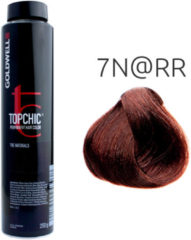 Rode Goldwell - Topchic Depot Bus - 7N@RR Middelblond Eluminated Intens Rood - 250 ml