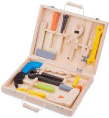 New Classic Toys - Speelgoed Gereedschapskoffer - 13 delig