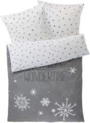 Bettwäsche Wondertime miaVILLA grau/weiß