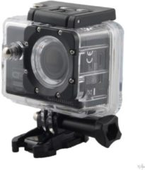 Zwarte Grundig HD action camera 1080P met wifi zwart