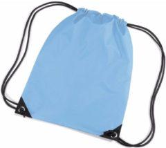 Merkloos / Sans marque Gymtas 12 liter - Lichtblauw