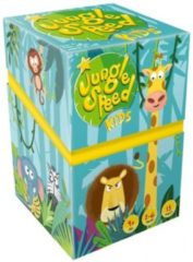 Lichtblauwe Asmodee Jungle speed kids kaartspel