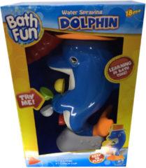 Boeketbinderij.be Bath Fun Bad-Speeltje Dolfijn met Waterrad