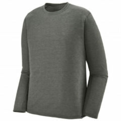 Patagonia - L/S Cap Cool Trail Shirt - Sport-T-shirt maat M, grijs/zwart/olijfgroen