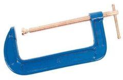 Blauwe Silverline G-Klem (200 mm)