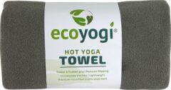 Ecoyogi Hot yoga handdoek - Grijs