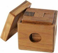 Longfield games Houten iq puzzel bakje
