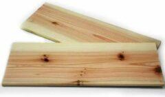 """Bruine Kuchenprofi Set van 2 - Barbecue grill plank """"Smoky"""", 2x medium - Küchenprofi"""