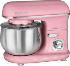 Clatronic KM 3711 Retro keukenmachine kneedmachine roze