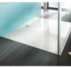 Huppe EasyStep douchebak betonpolymeer rechthoekig 130x90x3cm wit 215025055