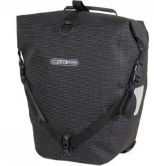 Ortlieb Fietstas enkel - Reflecterend Zwart - Back Roller High Visibility - F5505 - QL2.1