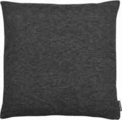 The Cushion Shop Melange - Sierkussen - 44x44 cm - Zwart