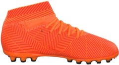 Fußballschuhe NEMEZIZ 18.3 AG J mit AGILITY MESH-Obermaterial D97872 adidas performance ZEST/CBLACK/SOLRED