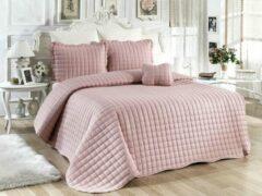Roze Sprei My Bedding 4 delig