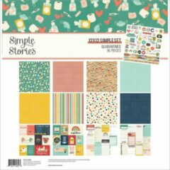 "Simple Stories Quarantined Collection Kit 12""X12"" (QUA14500)"
