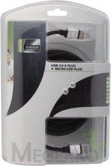 LegaMaster USB KABEL 3.0 - A PLUG NAAR MICRO B USB PLUG / PROFESSIONEEL / 5.0m