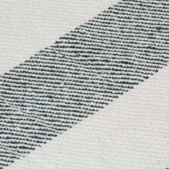 VidaXL Plaid streep 220x250 cm katoen donkergroen