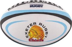 Blauwe Gilbert Official Replica Exeter Rugbybal maat 5