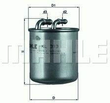 MERCEDES-BENZ Brandstoffilter
