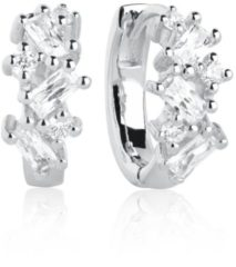 Gouden SIF JAKOBS JEWELLERY ANTELLA CREOLO EARRINGS SJ-E1076-CZ-YG